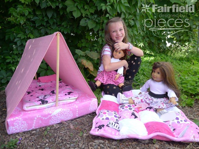 Diy doll tent