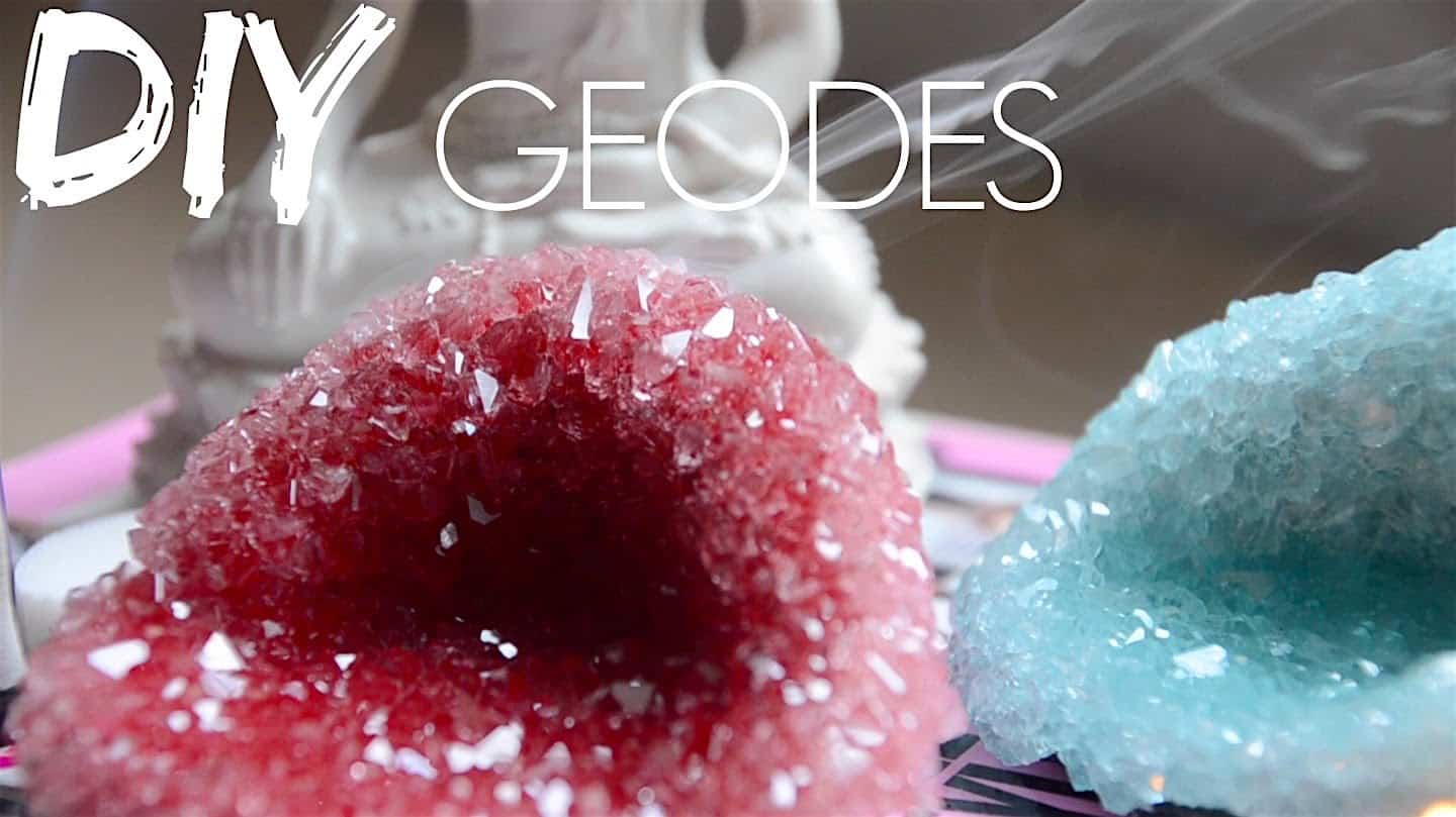 Decorative diy geodes