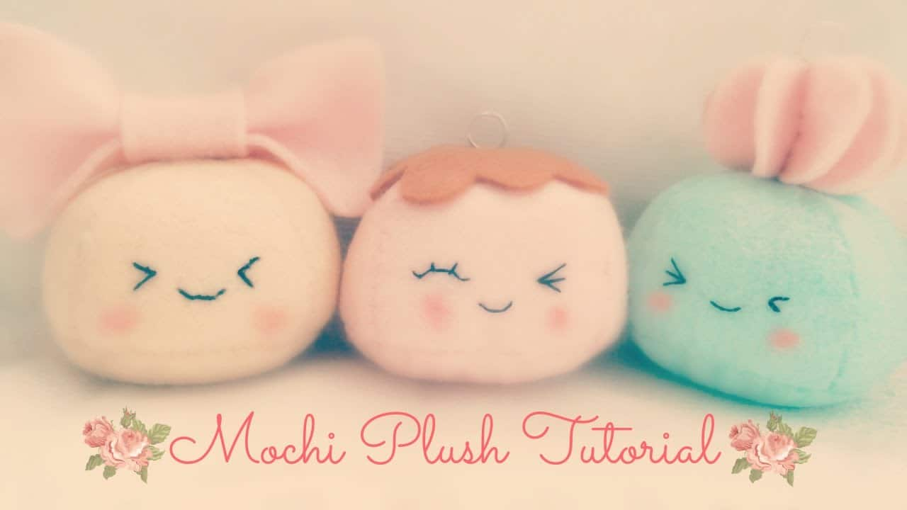 Felt mochi plush tutorial