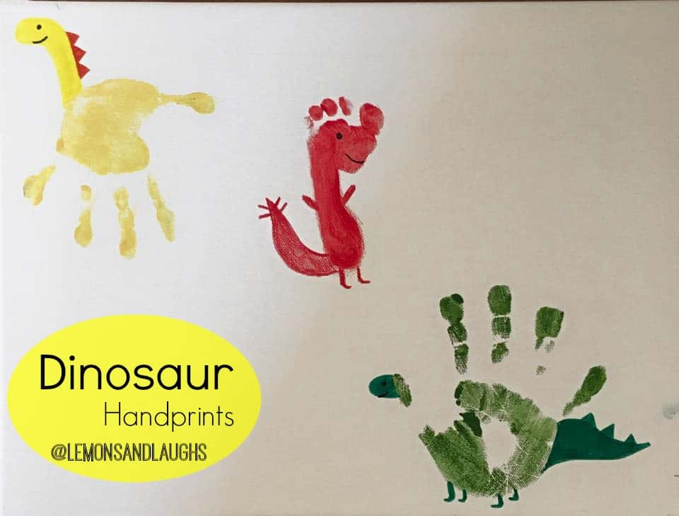 Hand and footprint dinosaurs