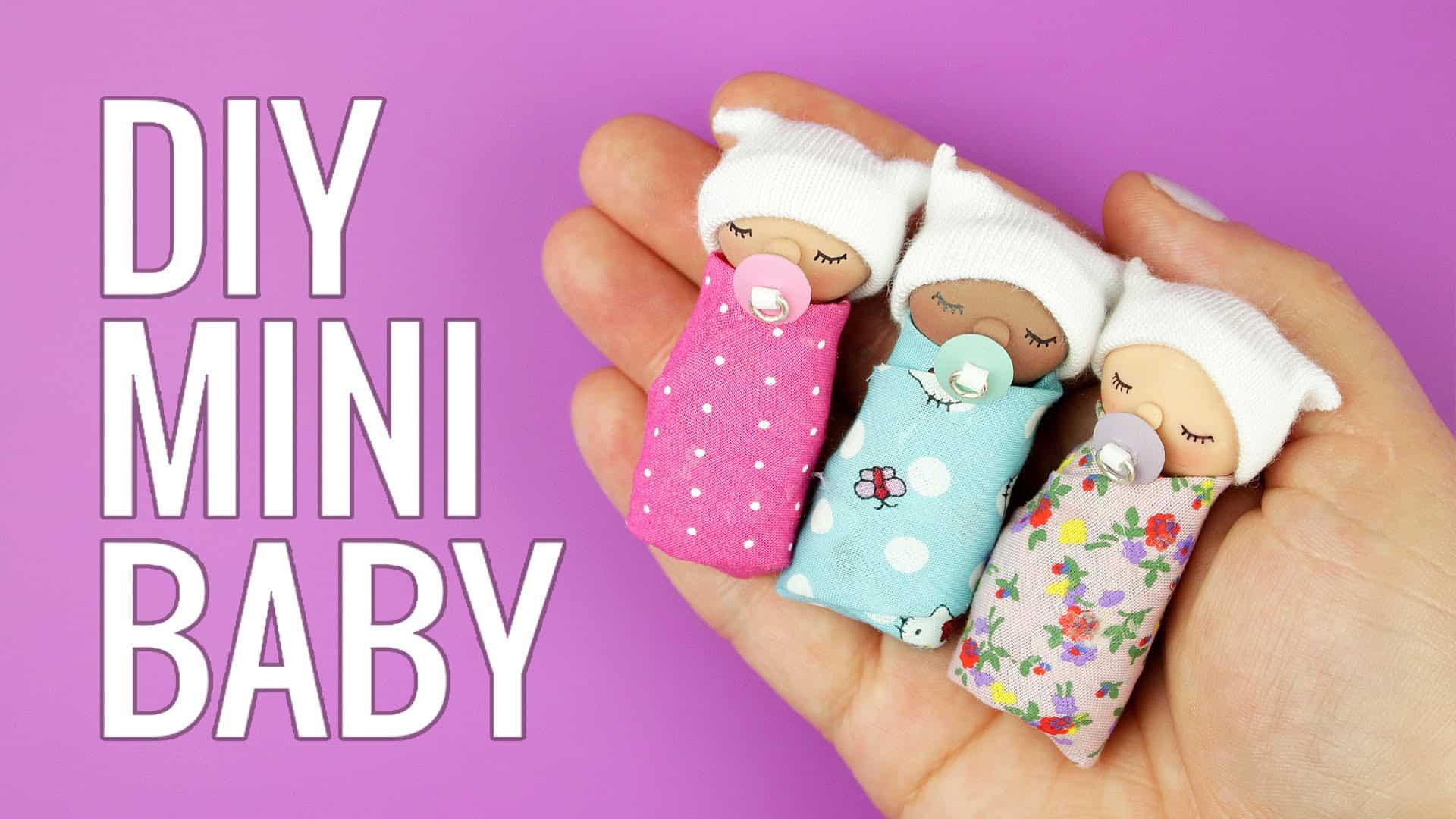 Mini doll babies