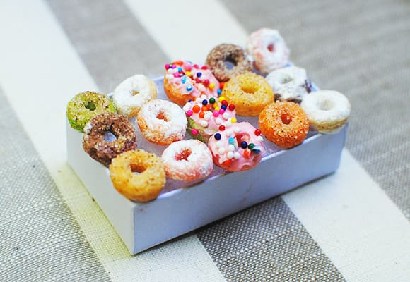 Mini donuts from cereal