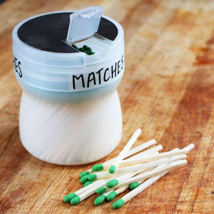Modern matchbox
