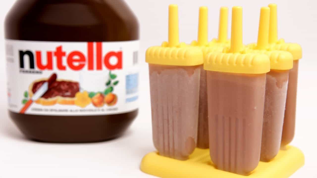 Nutella popsicles