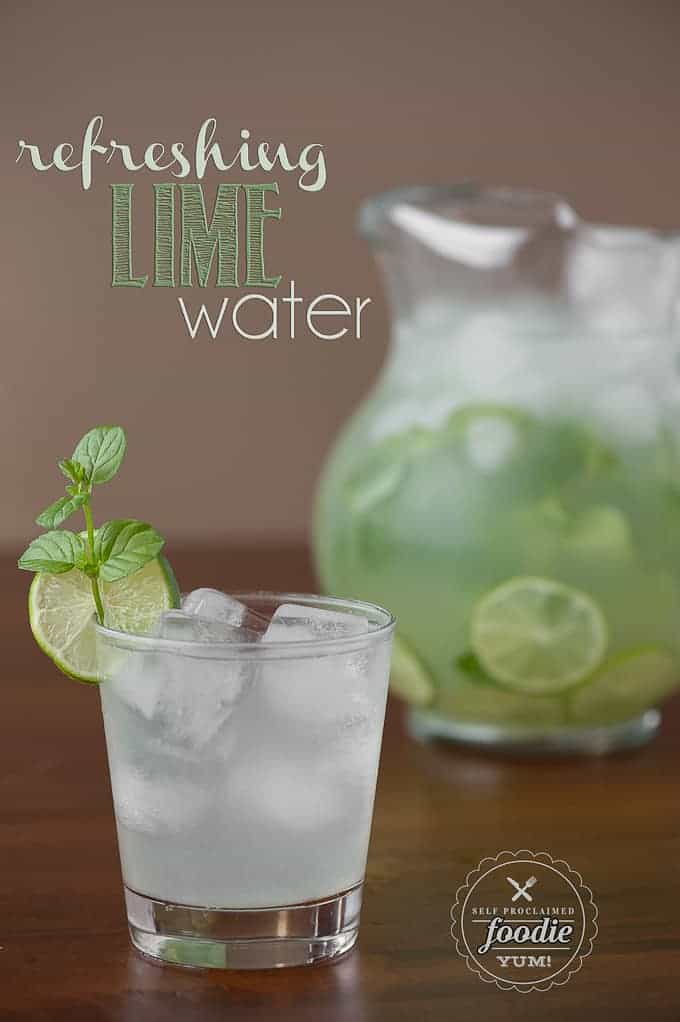 Resfreshing lime water