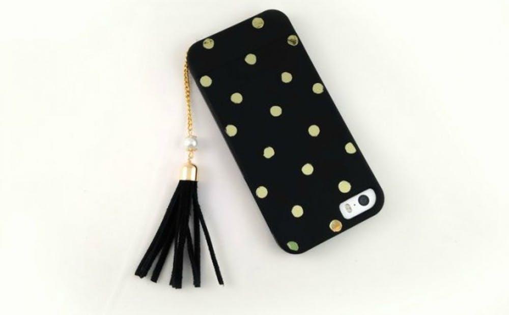 Tassel phone charm