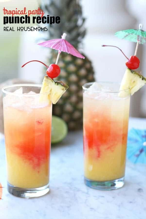 Tropical party punch
