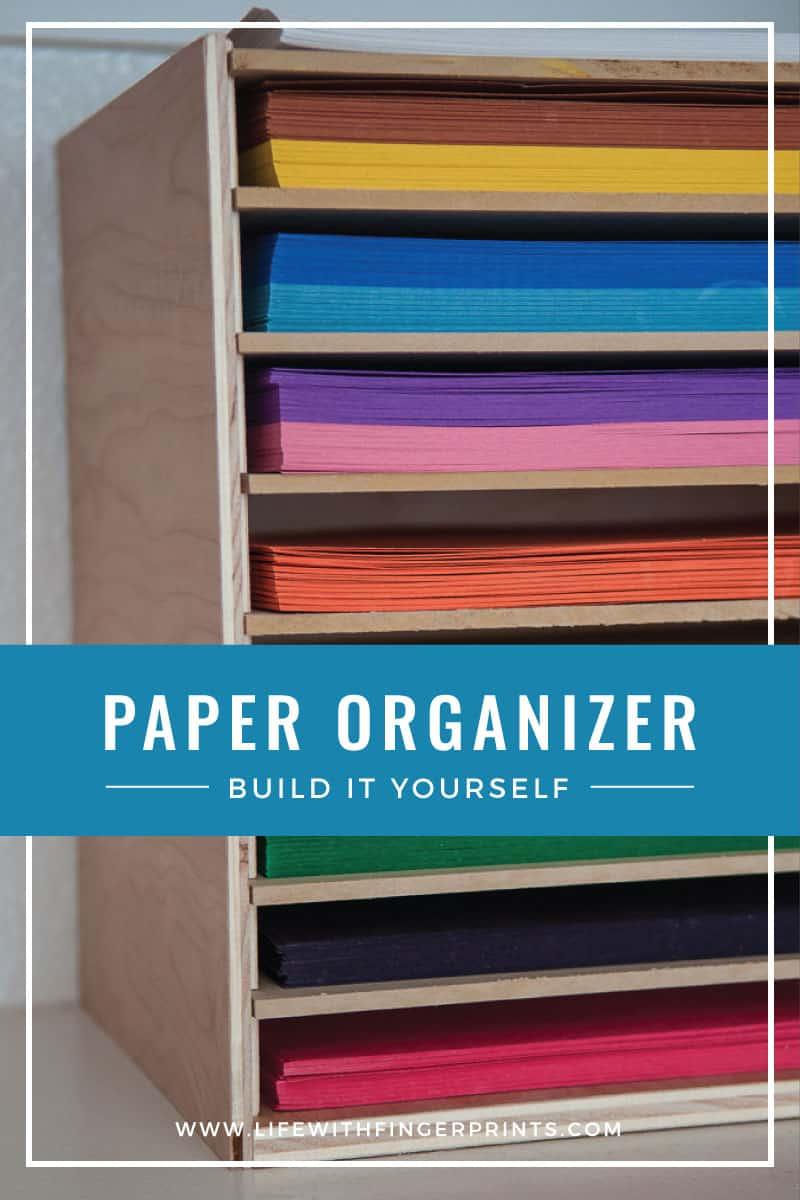 Diy paper organization