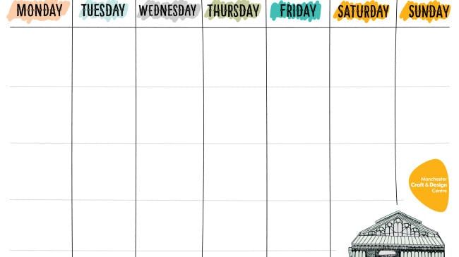 image regarding Free Printable Weekly Schedule named 15 Printable Weekly Schedules For Every person Towards Make use of