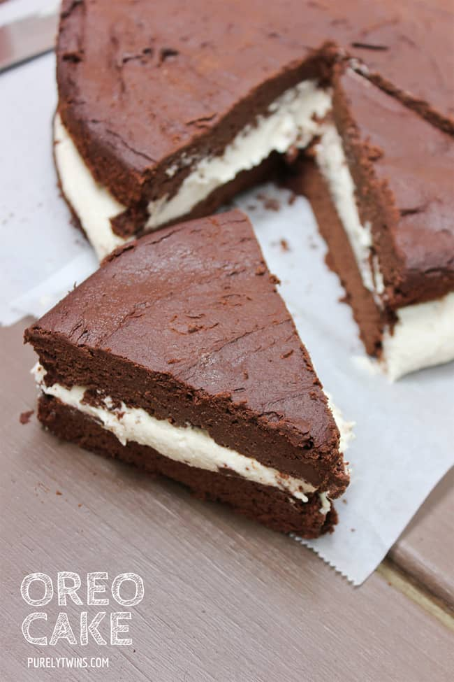 Homemade oreo cake recipe