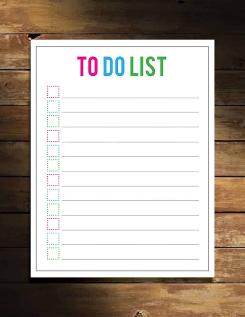Simple do to list