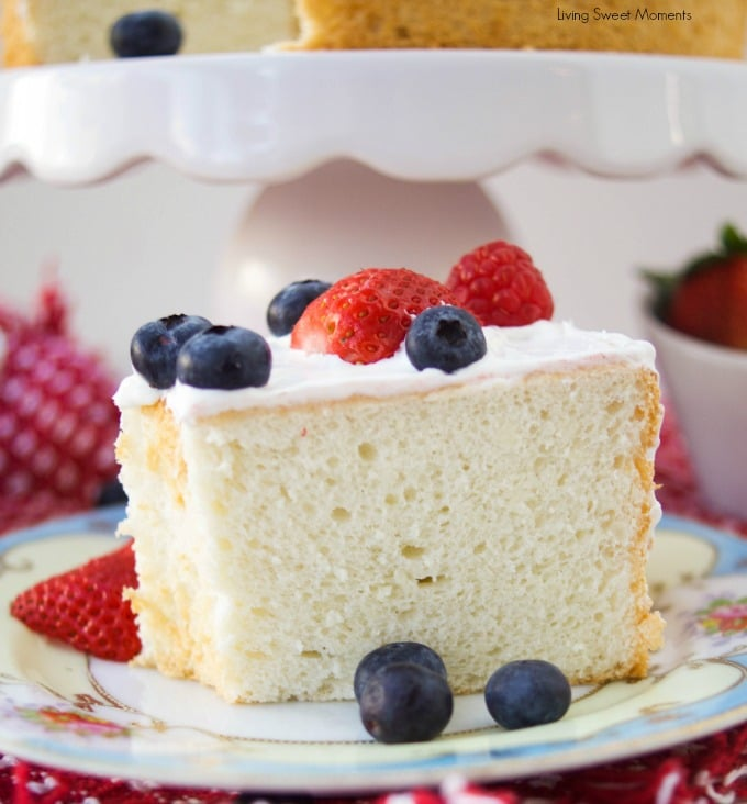 Sugar free angel food cake recipe