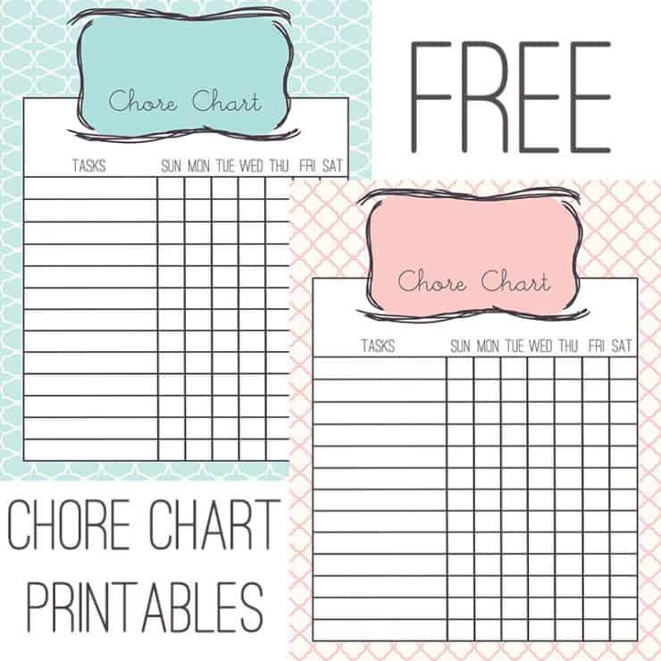 Trellis chore charts