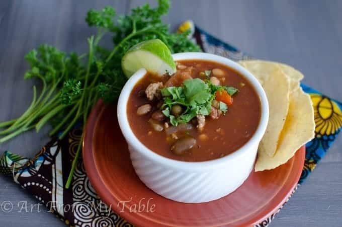 21 day fix crock pot chili recipe