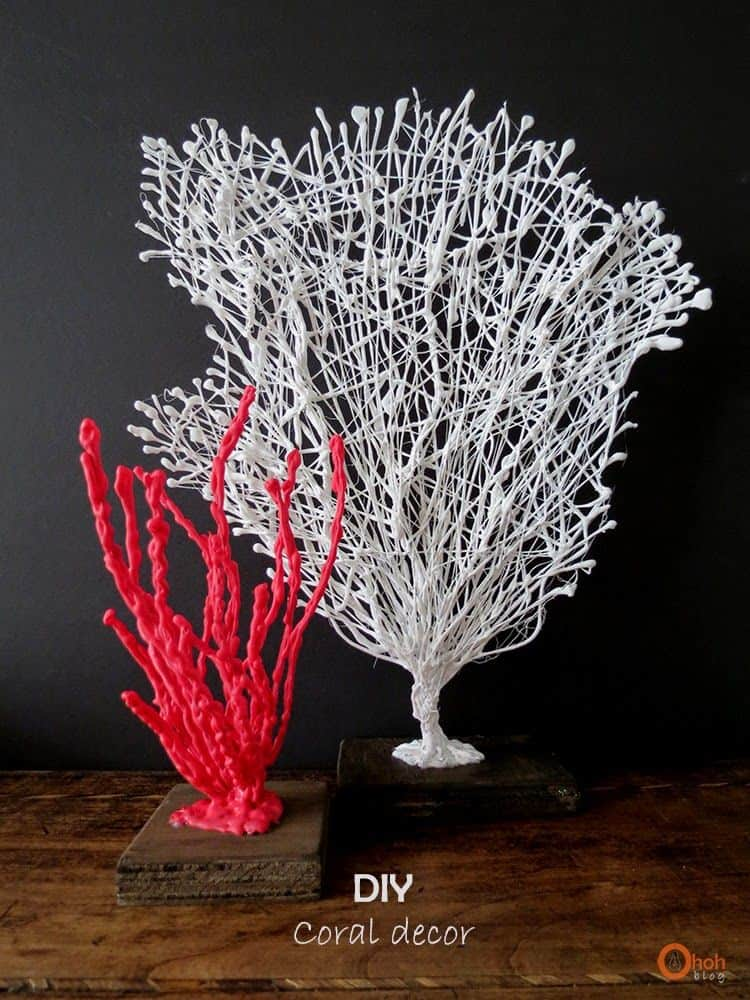 diy coral decor