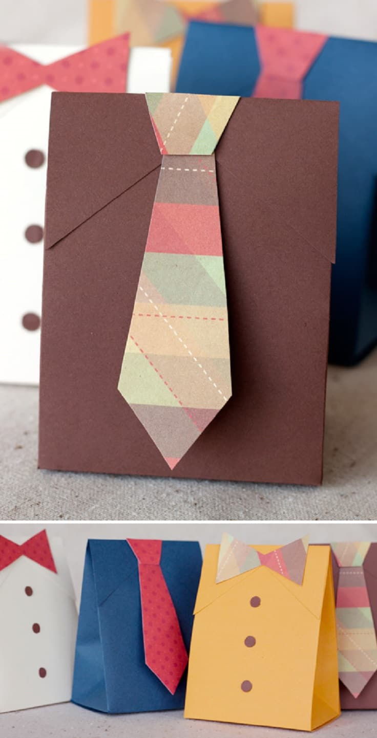 Bag style tie gift boxes