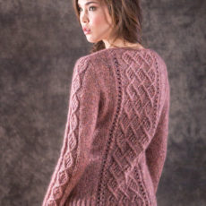 Berroco mori cable sweater
