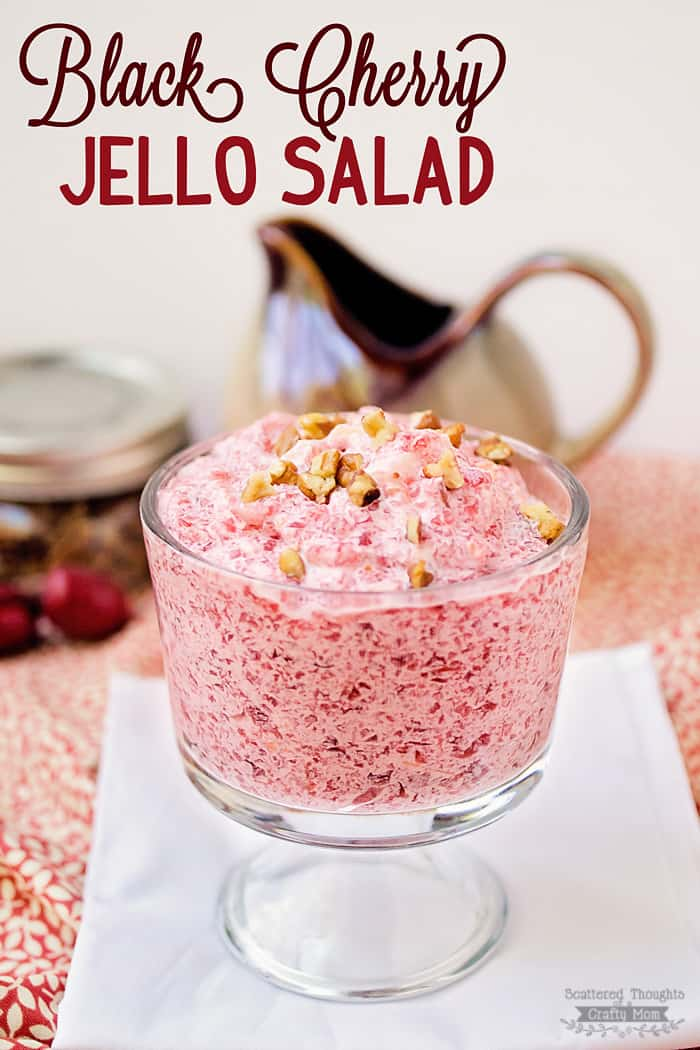 Black cherry jell o salad