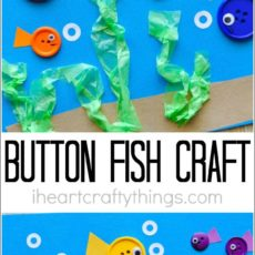 Button fish craft