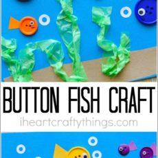 Button fish craft