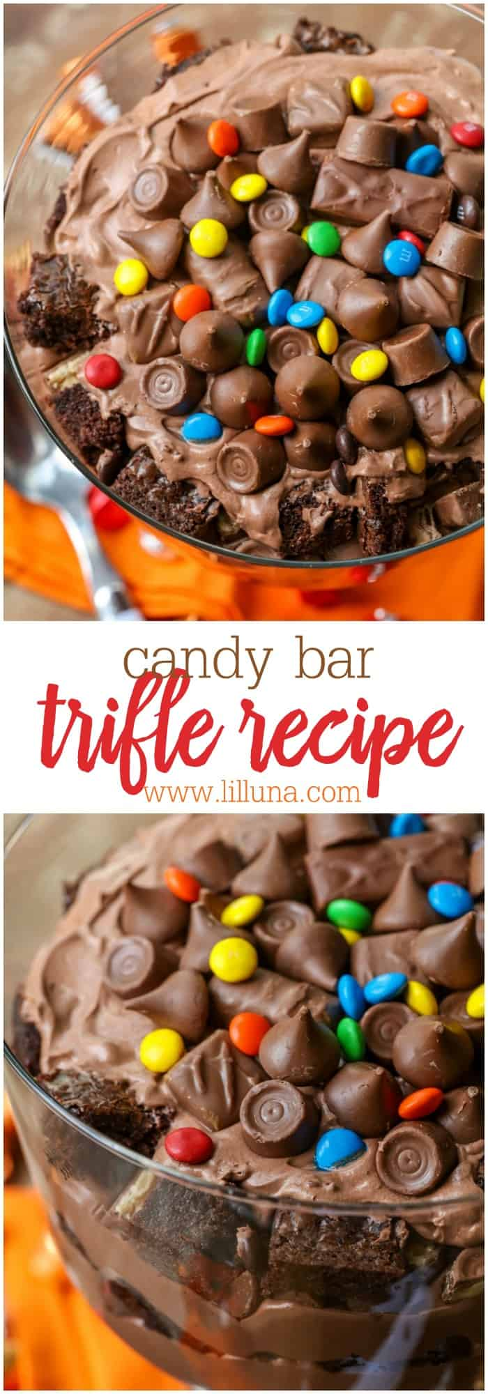 Candy bar trifle