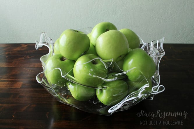 Diy abstract plastic bowl