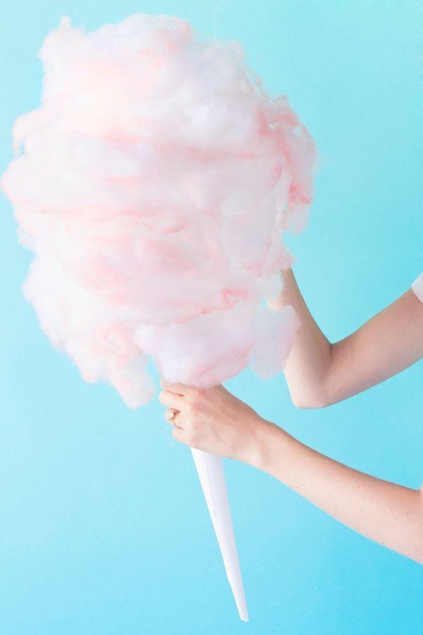 Diy cotton candy pinata