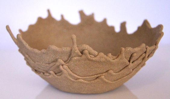 Diy sand drip bowls