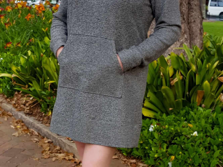 Diy sweatshirt dress