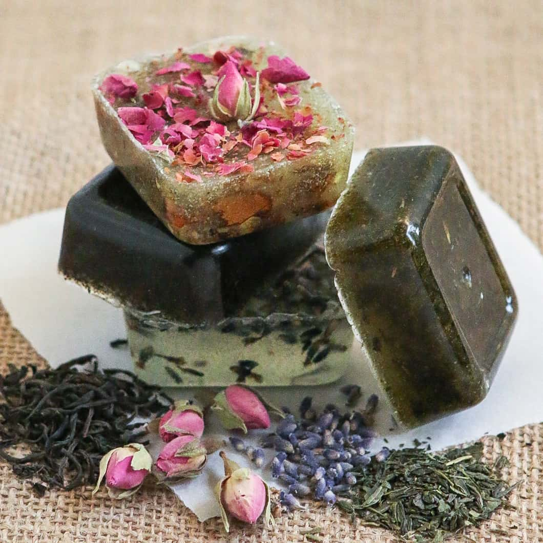 Diy tea soap