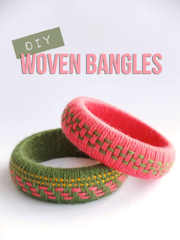 Detailed woven bangles
