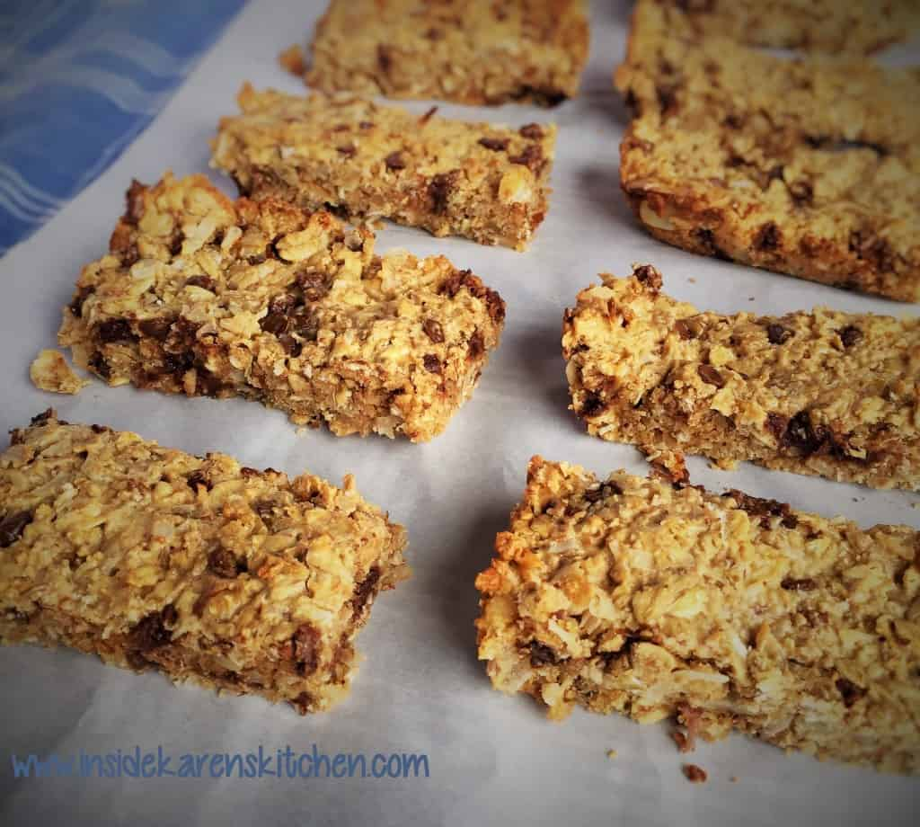 High protein chewy granola bars