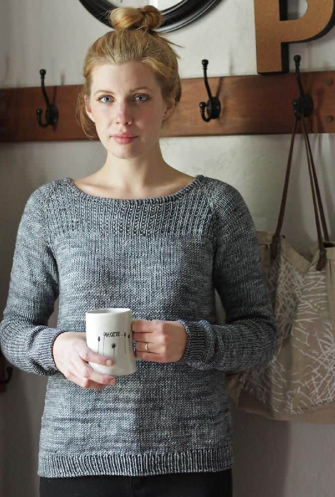 In stillness sweater