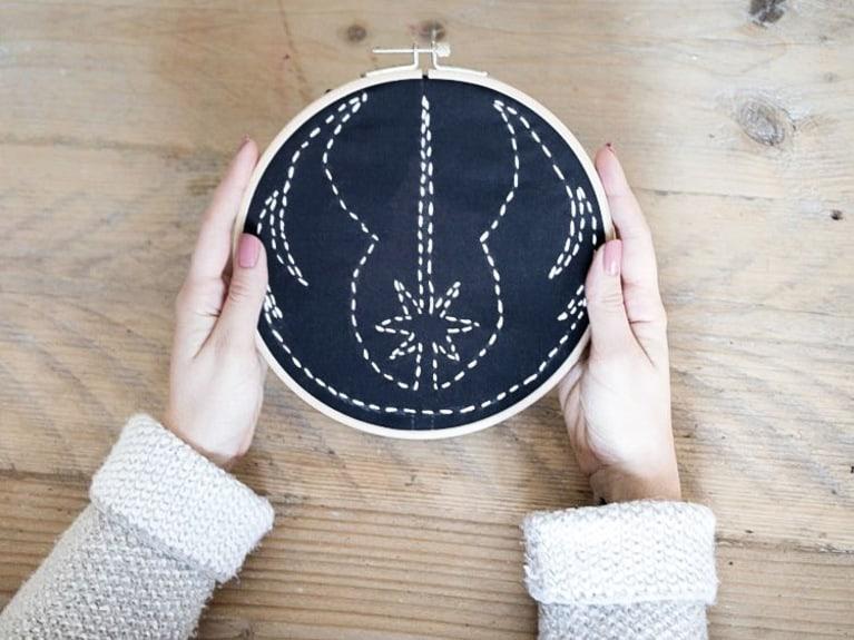 Jedi orden embroidery