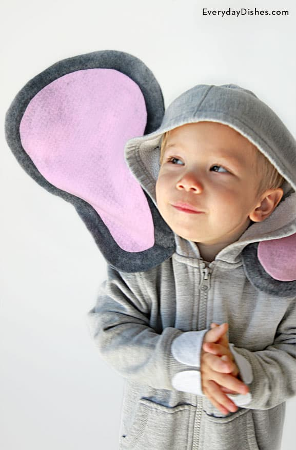 Kids' elephant costume