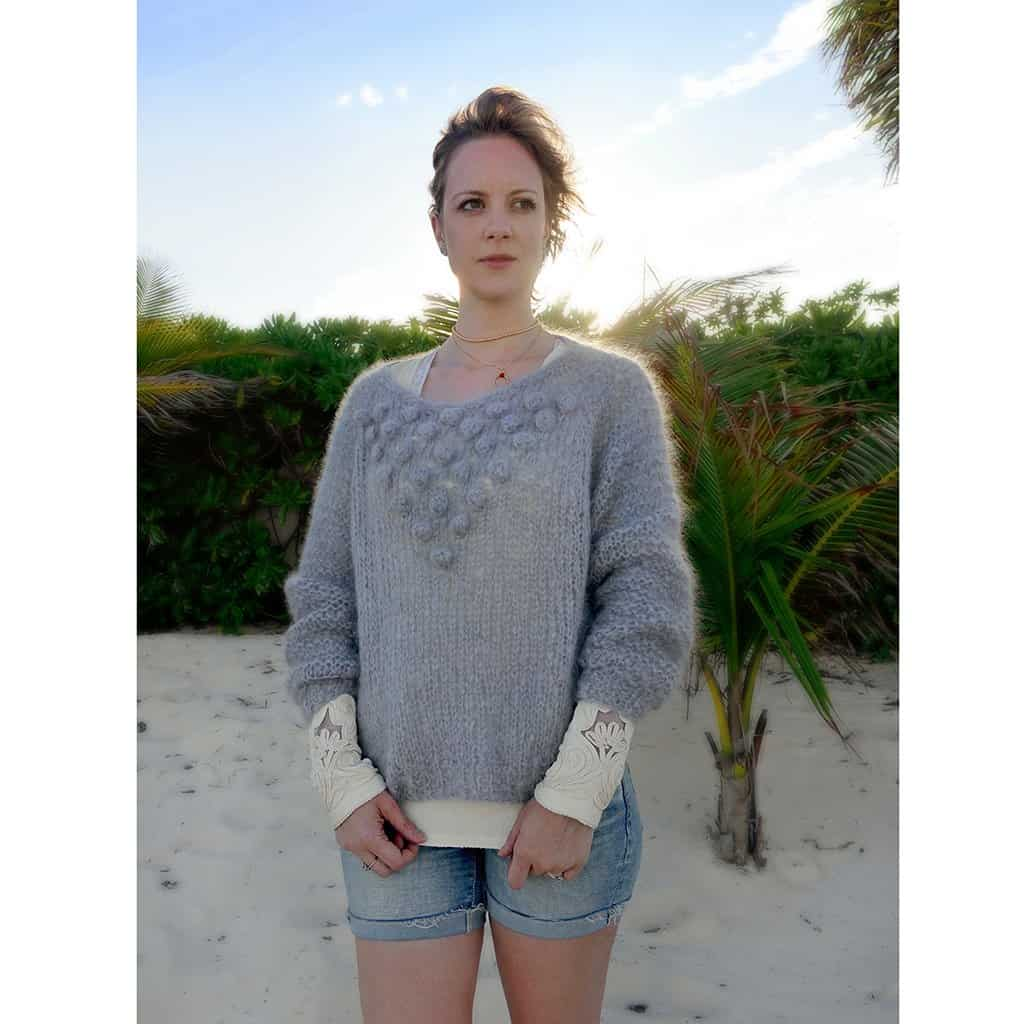 Peppercorn pullover
