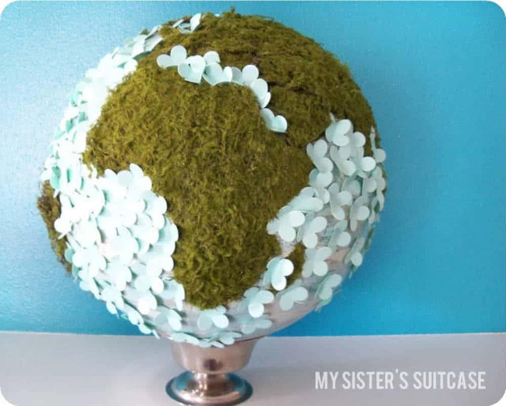 Pretty spring globe