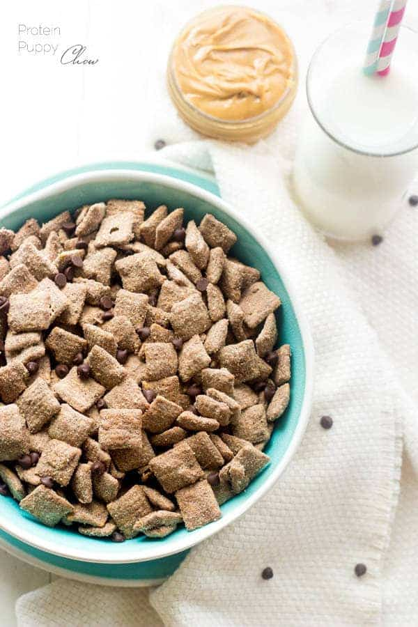 Puppy chow recipe high protein