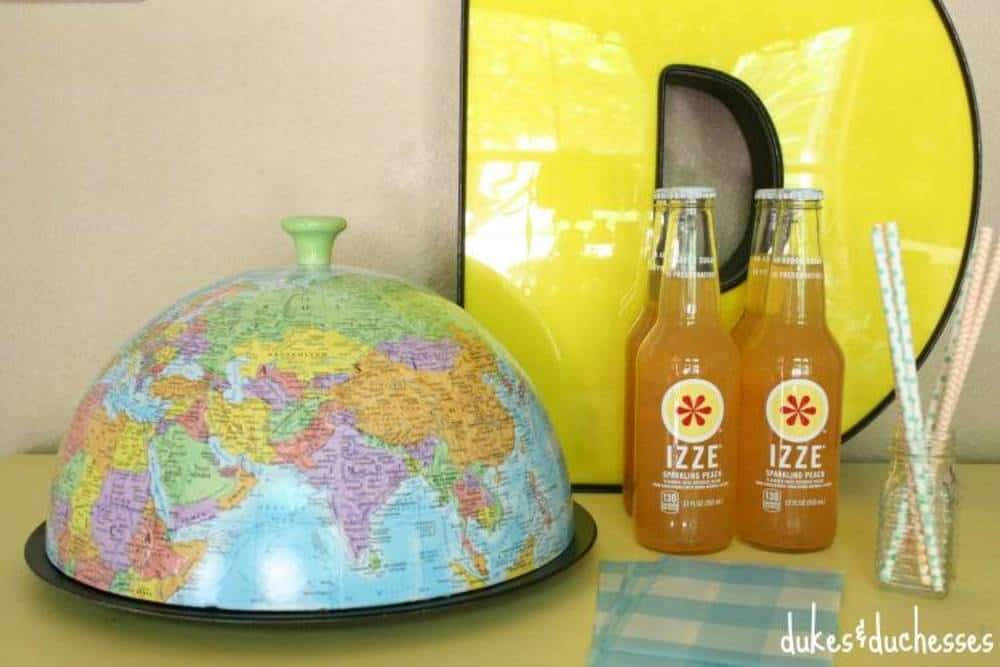 Repurposed globe cloche