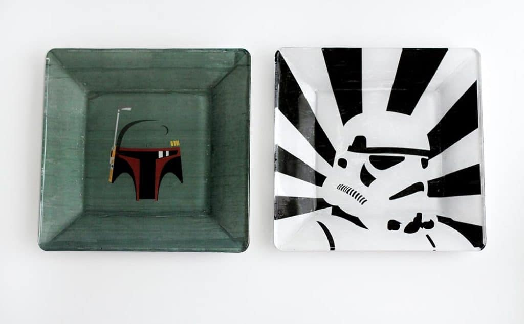Star wars trinket dishes