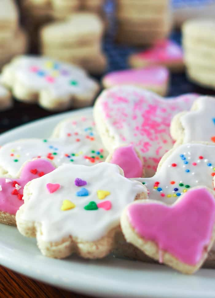 Super soft gluten free sugar cookies