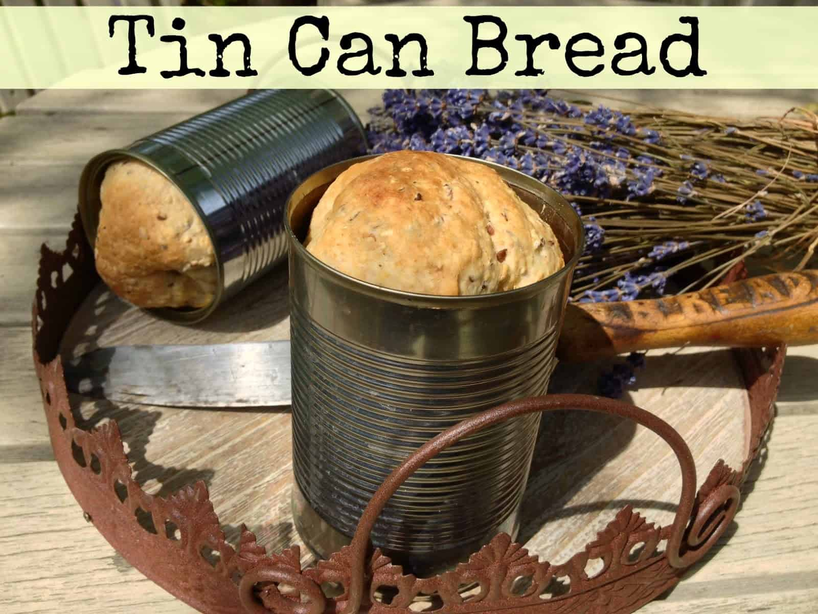 Tin can bread