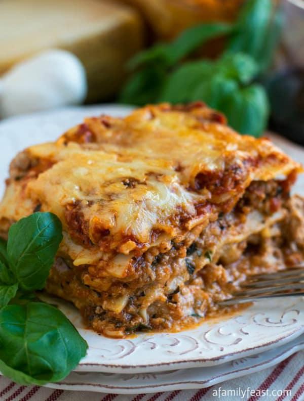 Classic lasagna recipe 3