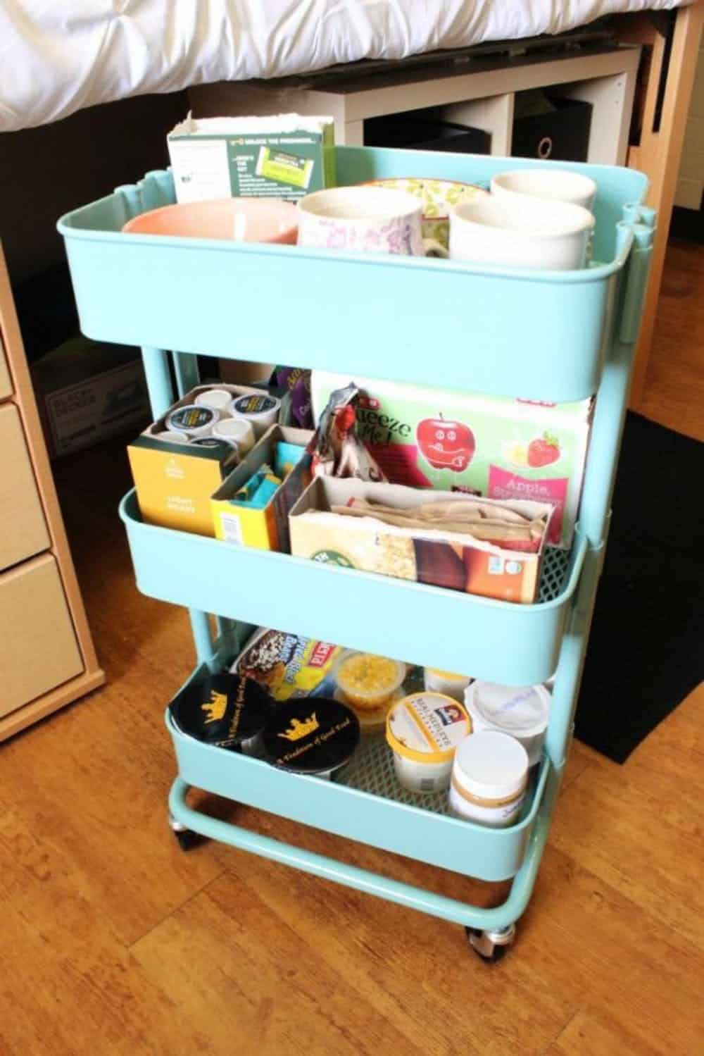 Diy bar cart kitchen