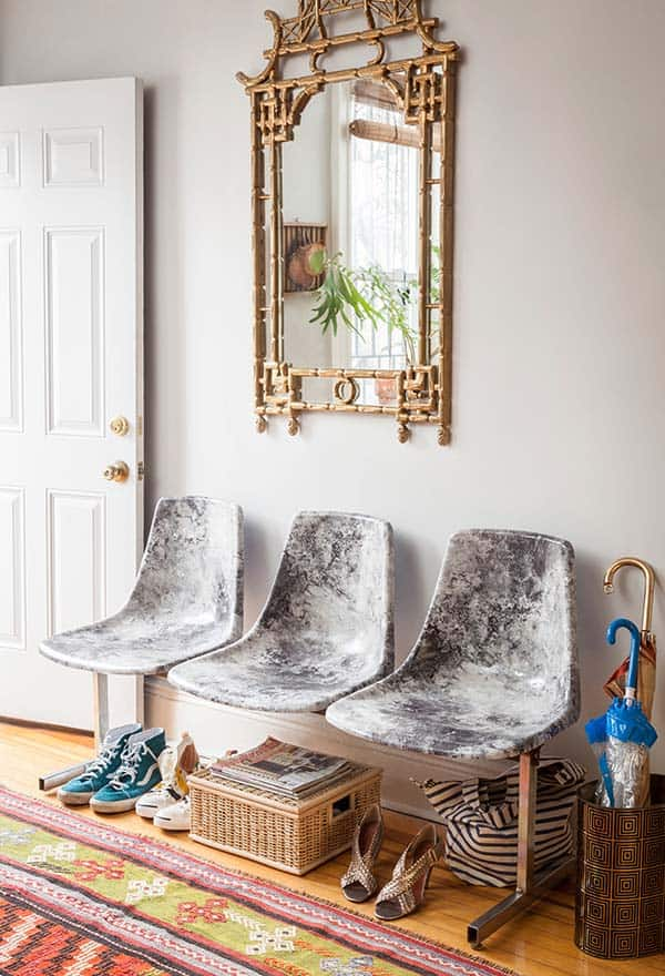 Diy marble chairs