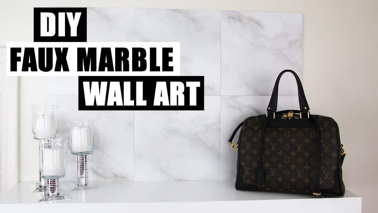 Diy marble wall