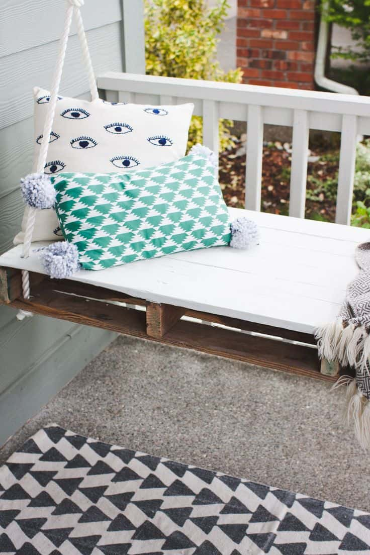 Diy style porch swing