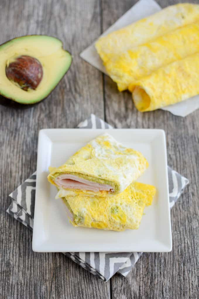 Protein egg wrap recipe