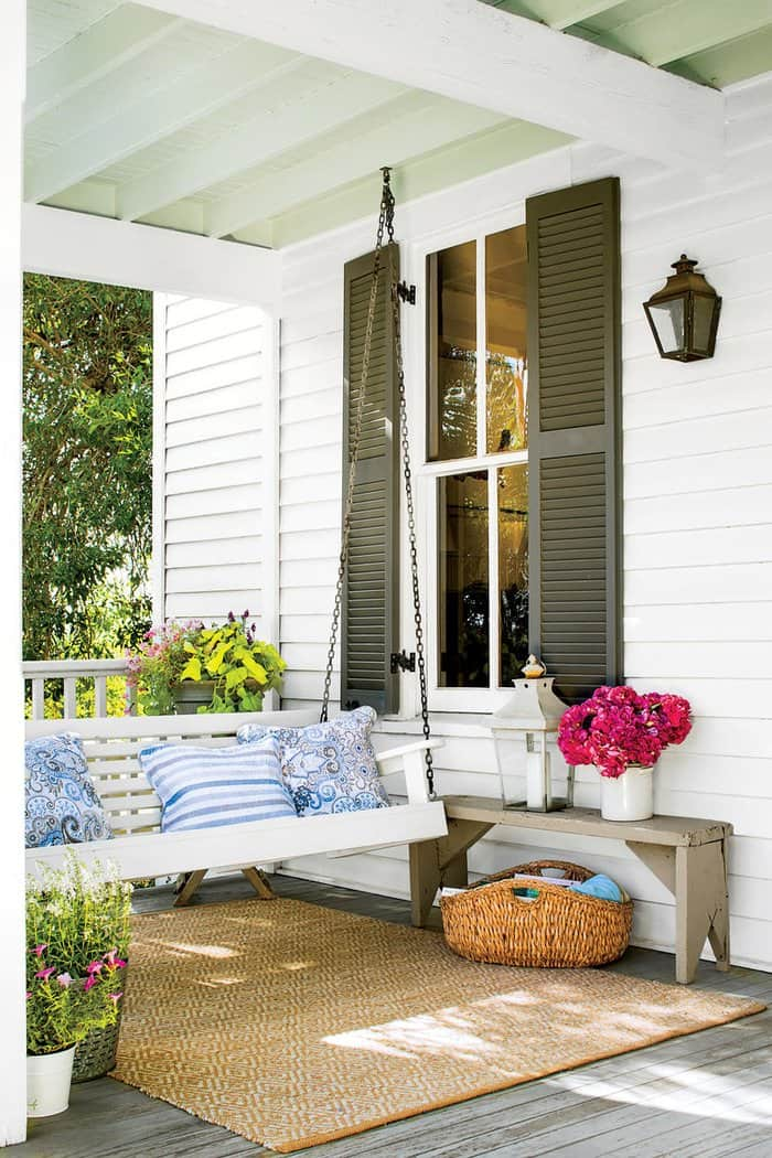 Keep It Cozy With These 15 Porch Swing Ideas