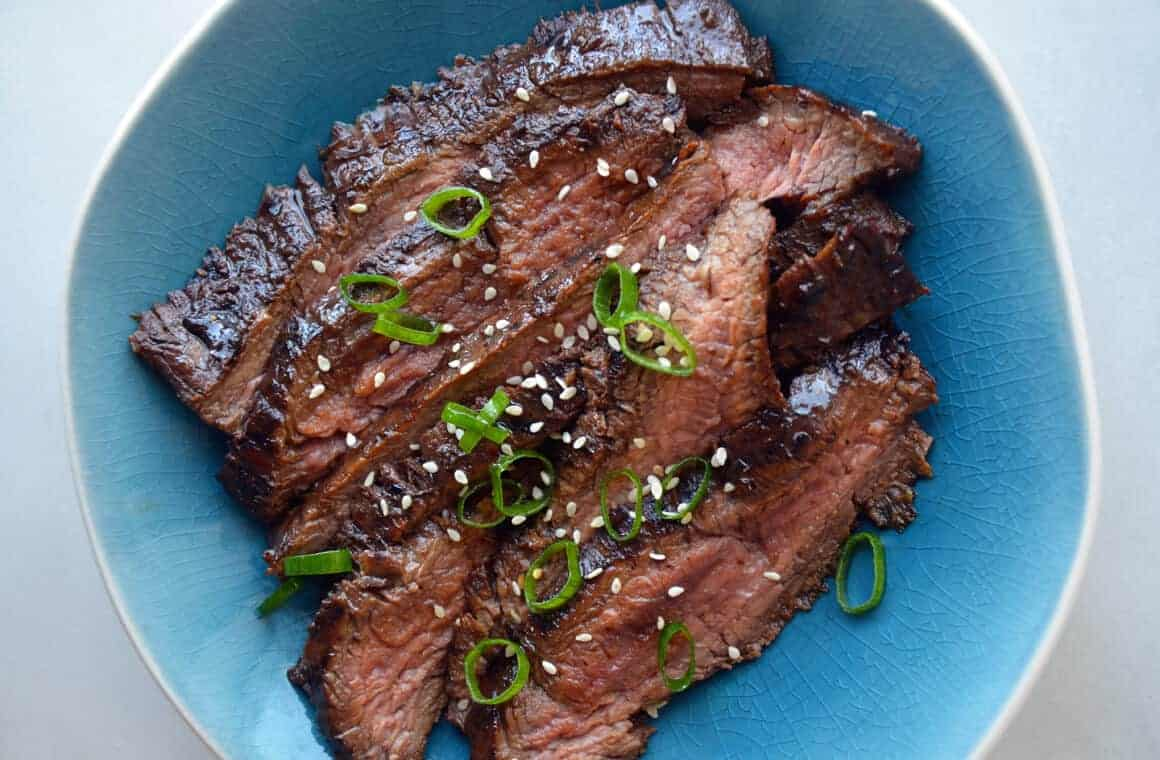 Ultimate asian flank steak marinade